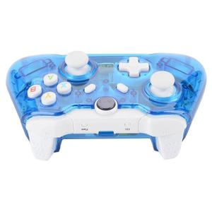Double Shock Wireless Controllers Built-in Super Cool LED Lights Gamepad Transparent Game Controller For XBOX ONE And Windows