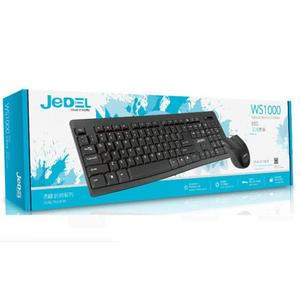 Jedel Wireless Keyboard Mouse Combo Ws1100, High Quality Keyboard, Keyboard