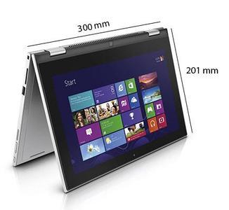 Dell Inspiron 3148 x360 4th-Gen Ci3 - 04GB - 500GB - 11.6 HD 720p Touchscreen - Win 8.1