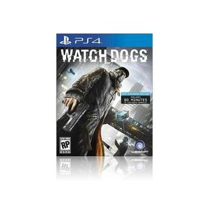 playstation 4 dvd Watch Dogs - PS4