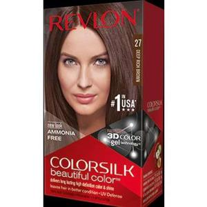 Color Silk 3D Technology USA For Men and Women No 27 Deep Rich Brown