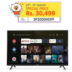 "TCL A3 32"" Smart Androidâ""¢ HD LED TV - Black"