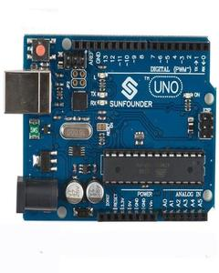 Arduino Uno R3  Without Usb Cable - Blue