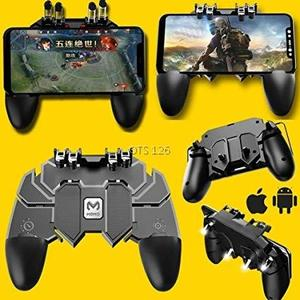 AK66 Soft PUBG/Fortnite Mobile Gaming Metal Trigger Button Game Shooter Controller