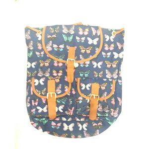 Blue College Bag For Girls