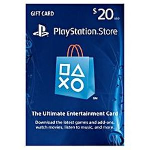 SonyPlaystation Gift Card - $20 UAE For PS4 - PS3 - PSVita