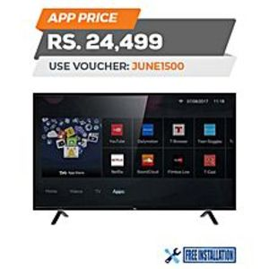 "TCL S62 - Smart HD LED TV - 32"" - Black"