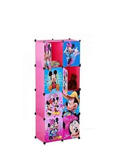 8 Mickey Minnie Storage Cabinet & Wardrobe For Kids