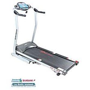 Butt SportsMotorized Treadmill Manual Inclined - 2.0H.P 12km/hr - Black & Grey
