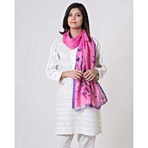 Bonanza SatrangiPink - Polyester Scarf for Women