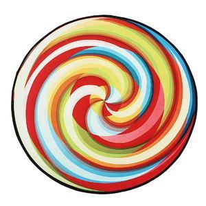 60cm Lollipop Round Carpet Living Room Rugs Bedroom Yoga Floor Mat