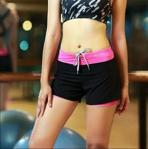 WomanYoga Sports Shorts running Fitness Slimming Bodybuilding High Waist Gym Running Quick dry loose Short Pants