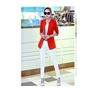 ModernStylishStore Women Stylish O-Neck Trench Outerwear Long Coat
