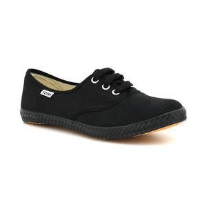 Tomy Takkies All Black Canvas Shoes For Women 5896087