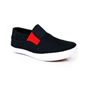 MDBlack Fabric Sneakers For Men
