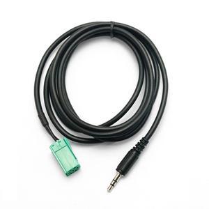 Estima Cars 3.5mm AUX CD Stereo Audio Line Input Cable for Renault Clio/Megane/Laguna/Espace AUX
