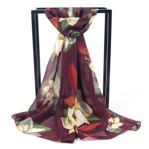 Perfect Meet Women Printed Soft Chiffon Shawl Wrap Wraps Scarf Scarves