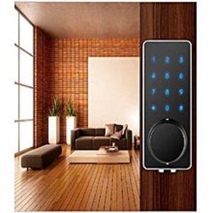 Save HomeSmart Phone App Door Lock Bluetooth Lock With Touch Screen Password