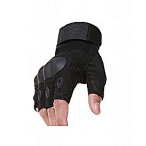 WAAll Purpose Black Color Half Palm Oakley Tactical Gloves