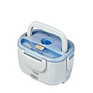 Easy BakingElectric Lunch Box - Blue & White