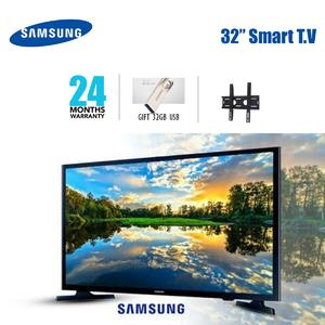 Samsung 32 Inch-Smart LED NU5500 WIFI TV (Years Warranty with 32GB Free USB Gift and Free Wall Stand)