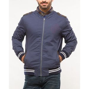 Cotton ZIPPER JACKET CLASSIC BLUE