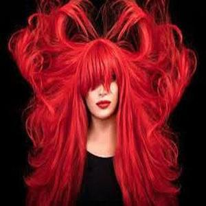 Party Fun Hair Temporary Color Spray –FIRE RED
