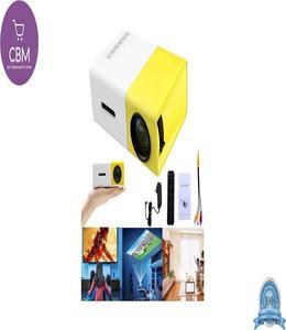 Aujoy YG300 YG -1080P Home Theater Cinema USB HDMI AV SD Mini Portable HD LED Projector (N)