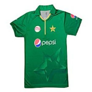 The Saim StoresPakistan Cricket T-Shirt  2017