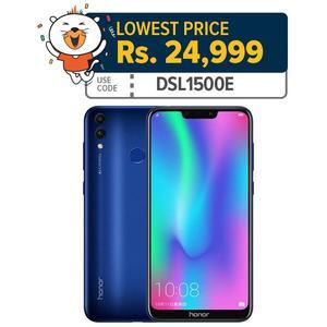 """Honor 8c - 6.26"""" HD+ Display - 3GB RAM - 32GB ROM - Fingerprint Sensor - Smartphone - Mobile Phone"""