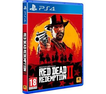Red Dead Redemption 2 Ps4 Dvd Original