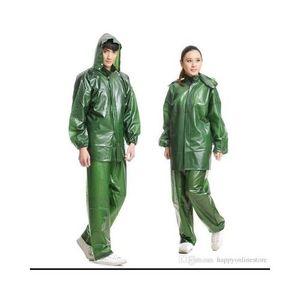 Green Parachute Local Rain Coat Suit