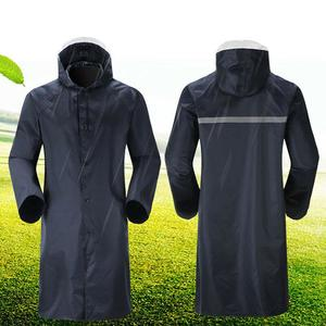 Long Riancoat Men Women Waterproof Hooded Cape Rain Poncho For Walking Running Cycling Outdoor Rain Coat