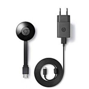 GoogleGoogle Chromecast Generation 2 Media Streaming Device  (Black)