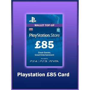 PLAY STATION GIFT CARD 85 UK