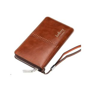 PU Leather Wallet Case - Brown