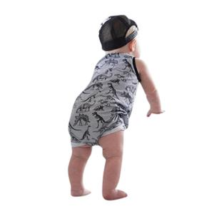 027a7a5305 Rainbowroom 2019 Newborn Infant Baby Girl Boy Dinosaur Romper Jumpsuit  Outfits Clothes Set