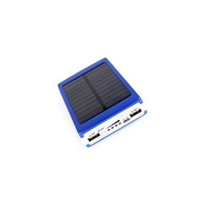 Solar Led Lights Power Bank with 2 in 1 charging cable for Android and ios
