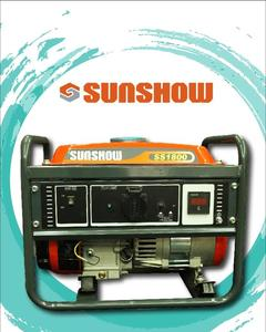 SUNSHOW GASOLINE GENERATOR SS1800 1.0KVA - 100%COPPER - ORANGE