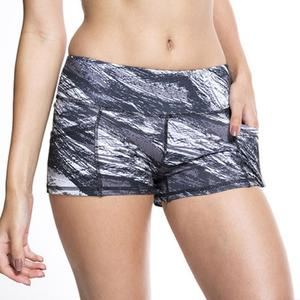 Ladies Printed High Strength Quick Dry Sports Running Fitness Yoga Shorts