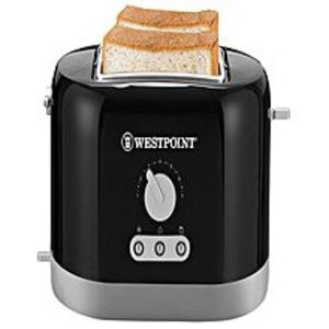 Westpoint Official WF-2538 - 2 Slice Toaster - Black