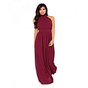 Lovers DressModern Duchess Burgundy Jersey Maxi Dress