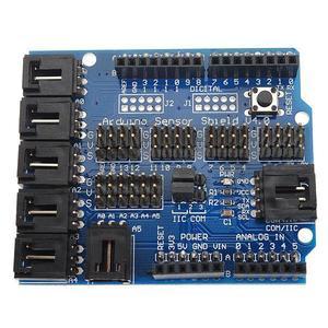 Arduino UNO MEGA Duemilanove Sensor Shield V4 Digital Analog Module Servo Motor
