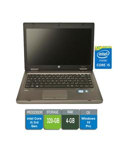 HP ProBook 6470b - Business Notebook Intel Core i5 3rd Generation - 4GB Ram - 320 GB HDD  - Laptop