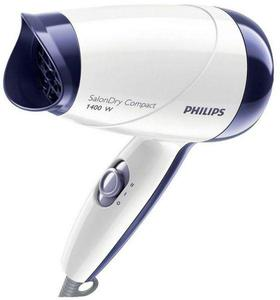 Philips HP-8103 - Hair Dryer For Wet & Dry Hair - White & Blue