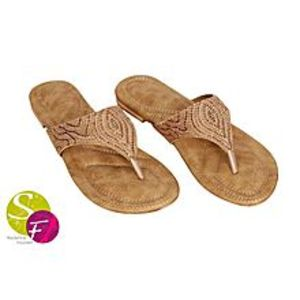 SNF ShoeSlippers with Cushioned Sole for Women - Beige