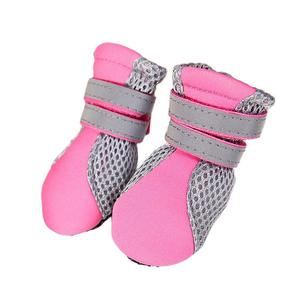 Pure Rubber Soft Sole Walking Running Dog Shoes for Small Pet Puppy Cat