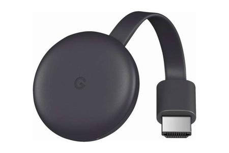 Google Chromecast 3 Media Streaming Device - Black