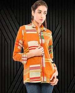 """Women MultiColour Tunic with Lawn Fabric-"""