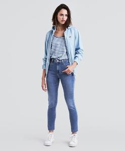 Levi's 720 HiRise Super Skinny Blue Bird Jeans Women 52797-0009